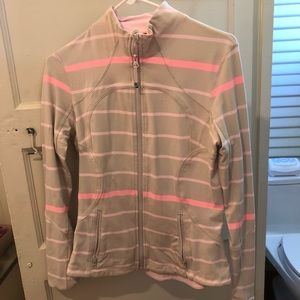 Lululemon Define Jacket Beige pink 8